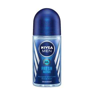 Nivea Men Fresh Active Roll On Deodorant [50 mL]