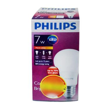 Philips Lampu LED - Warm White/Kuning [7 W]