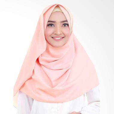 Cotton Bee Syakilla Hijab Instant / Pashmina Instan - Peach