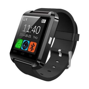 SP Watch U8 Original Smartwatch - Hitam