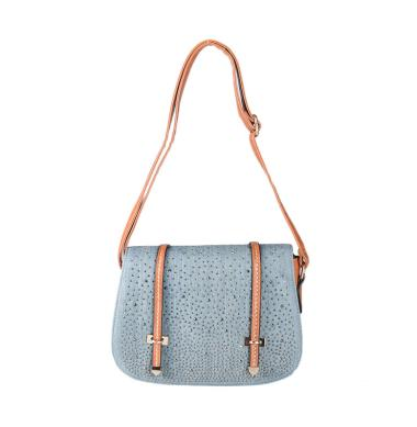Outline Denim Sling Bag 122101716 Slingbag - Brown
