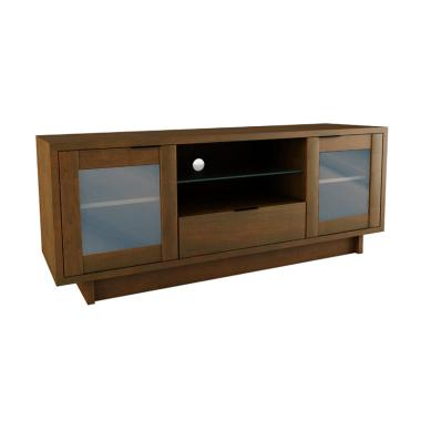 Creova New Mexico Series TV Stand - Coklat