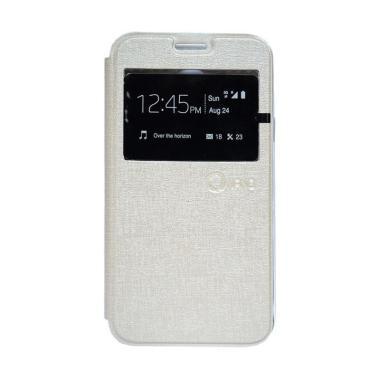 Nano Flip Cover Casing for Samsung Galaxy Tab 3V T116 - Cream