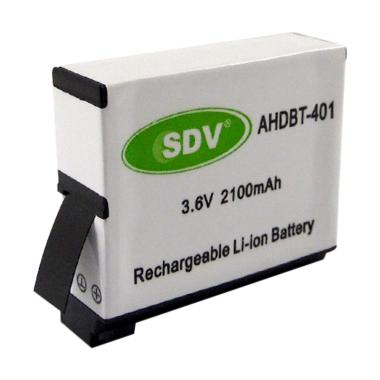 SDV Battery for Action Camera Go Pro Hero 4 [2100 mAh]