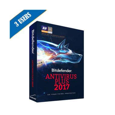 Bitdefender Antivirus Plus 2017 1 Year / 3PC