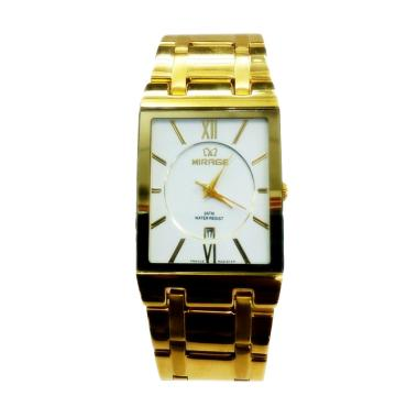 Mirage M975G Jam Tangan Fashion Pria - Gold White