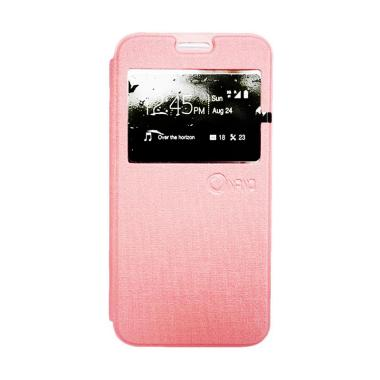 Nano Flip Cover Casing for Samsung Galaxy Tab 3V T116 - Pink