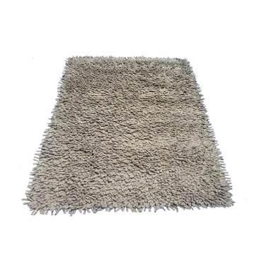 Tren-D-rugs Shaggy Finger Felt Karpet - Beige [120 x 160 cm]