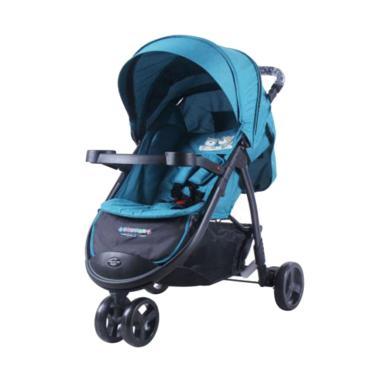 Jual Creative Baby Sierra 675 Pliko Stroller Kereta Dorong Bayi Tosca Blue Online Harga