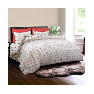 Jual Bed Cover King Rabbit