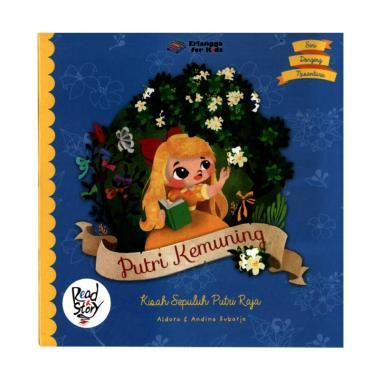 jual erlangga seri dongeng nusantara putri kemuning buku