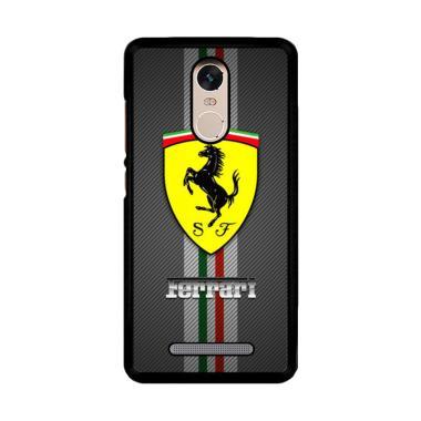 Jual Flazzstore Texture Ferrari Black O0625 Custom Casing