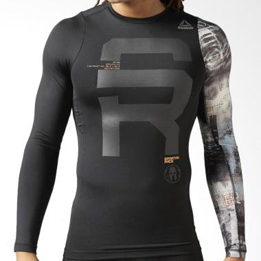 Jual Reebok Spartan Race Long Sleeve Compression Shirt
