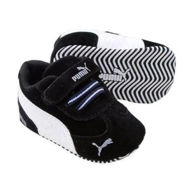 Jual Prewalker Puma Sepatu Bayi - Black White Online - Harga & Kualitas Terjamin