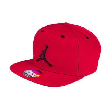 Nike Jordan Jumpman 619360 689 Red Snapback Topi Basket