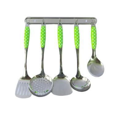 Jual nakami jxa 010 house wares kitchen tool set hijau for Kitchen set hijau