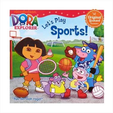 Jual Dora the Explorer Let's Play Sports Komik Book Online - Harga & Kualitas Terjamin
