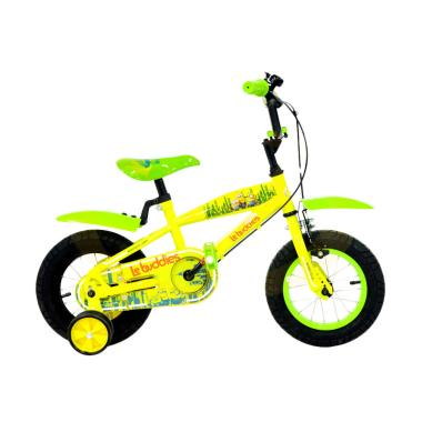 Jual WIMCYCLE Minion Sepeda Anak Yellow Green [12 Inch