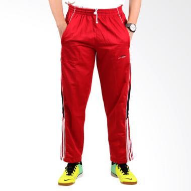 Jual Elfs Shop FWIA Training Celana Panjang Pria - Merah Cabe Online - Harga