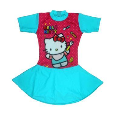 Jual Nice Abg Motif Hello Kitty Polka Baju Renang Rok Anak