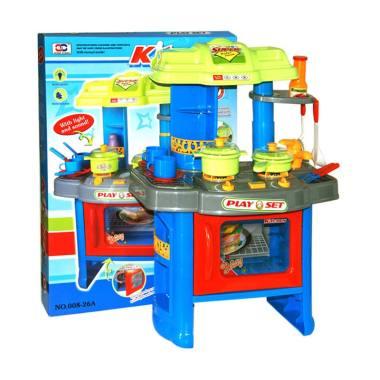 Jual wonderland 008 26a kitchen play set mainan anak for Kitchen set 008 26