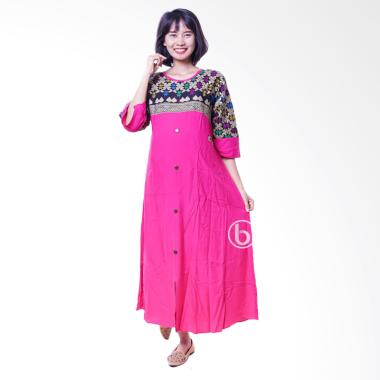 Jual Mama Hamil Batik Sonket Cantik Baju Gamis Hamil