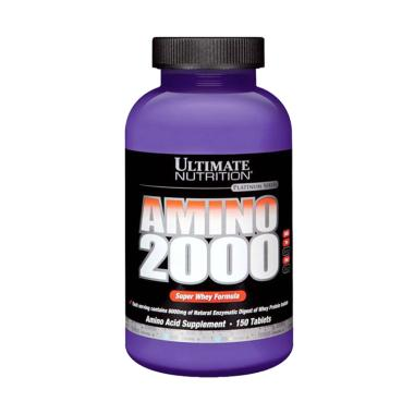 Jual Ultimate Nutrition Amino 2000 Supplement [150 tabs ...