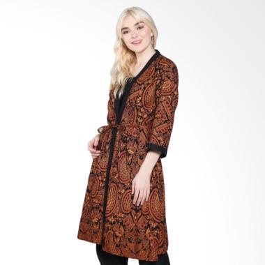 Jual Jogja Batik Pradipta A Kimono Motif Batik Sogan ...