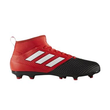 Jual adidas Men Football Ace 17.3 Primemesh FG Sepatu Sepakbola - Red Black (BA8506