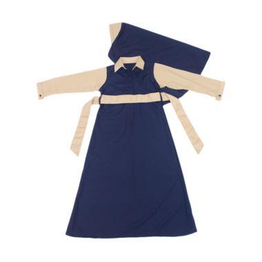 Jual Baju Yuli Gamis Anak Perempuan Semi Formal Navy