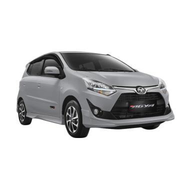 Jual Toyota New Agya 1 2 G Mobil Silver Metallic Uang