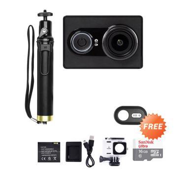 Jual Xiaomi Yi International Edition Black Paket Traveling