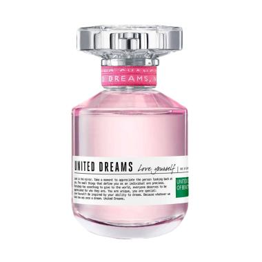 Jual benetton united dreams love yourself for her edt for Benetton united dreams love yourself