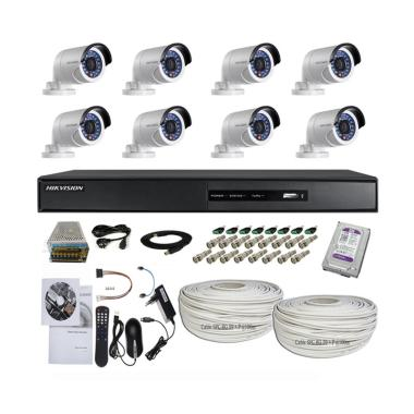 Jual Hikvision 8 Channel Turbo HD Paket Kamera CCTV 20