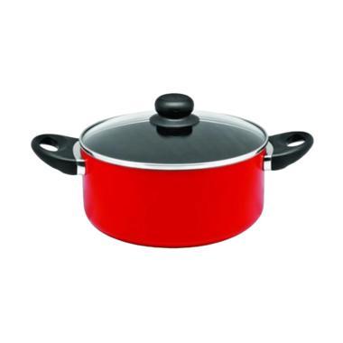 Jual Maxim Valentino Dutch Oven Teflon Anti Lengket 20 Cm