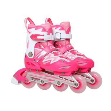 Jual Cougar ADJJunior Inline Skate W ABEC7 MS835L PK WH