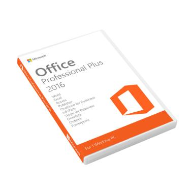 Jual microsoft office professional plus 2016 original for Catalogue bureau plus