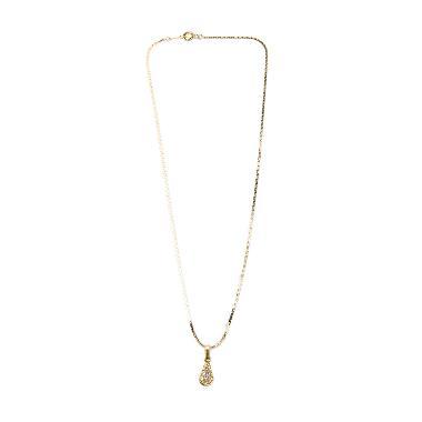 harga 1901 Jewelry KL.958-26.HR66-10 Kalung 958-26 [Lapis Emas 24k] Gold Blibli.com