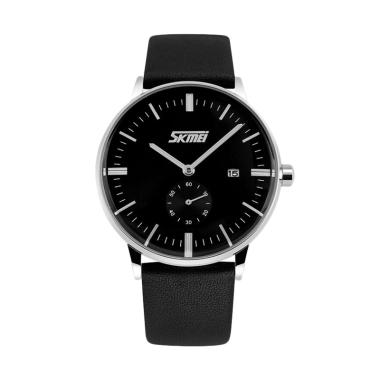 jual skmei casual men elegant maskulin watch jam tangan pria hitam online harga kualitas. Black Bedroom Furniture Sets. Home Design Ideas