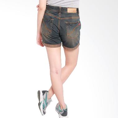 2ndRED 261203A Jeans Hotpants - Brown Black