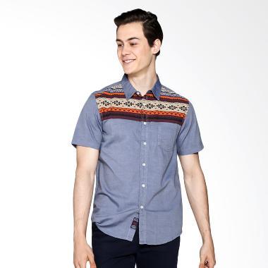 3 Second 103111611 Men Shirt - Blue