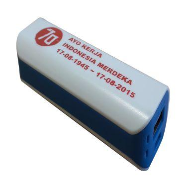 Jual 3T Saku Spesial Edisi MERDEKA White List Aegean Blue Power Bank Harga Rp 99000. Beli Sekarang dan Dapatkan Diskonnya.
