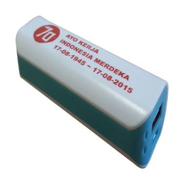 Jual 3T Saku Spesial Edisi MERDEKA White List Island Blue Power Bank Harga Rp 99000. Beli Sekarang dan Dapatkan Diskonnya.