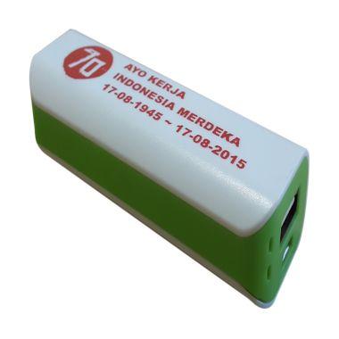 Jual 3T Saku Spesial Edisi MERDEKA White List Green Powerbank Harga Rp 99000. Beli Sekarang dan Dapatkan Diskonnya.