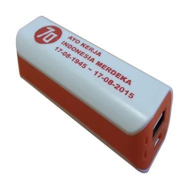 Jual 3T Saku Spesial Edisi MERDEKA White List Orange Power Bank Harga Rp 99000. Beli Sekarang dan Dapatkan Diskonnya.