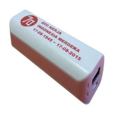 Jual 3T Saku Spesial Edisi MERDEKA White List Pink Power Bank Harga Rp 99000. Beli Sekarang dan Dapatkan Diskonnya.