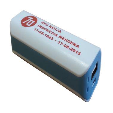 Jual 3T Saku Spesial Edisi MERDEKA White List Vivid Blue Power Bank Harga Rp 99000. Beli Sekarang dan Dapatkan Diskonnya.