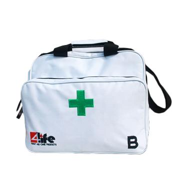 4Life First Aid Kit White Bag Type B Sesuai Peraturan Kementerian