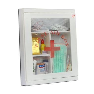 First Aid Plastik Box Kit Peralatan Medis