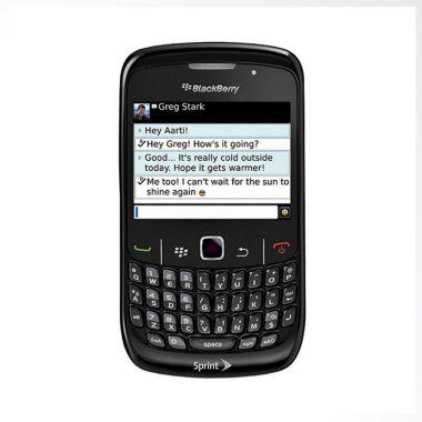 Blackberry Curve 8530 CDMA Hitam Smartphone